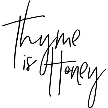 Thyme is honey square logo